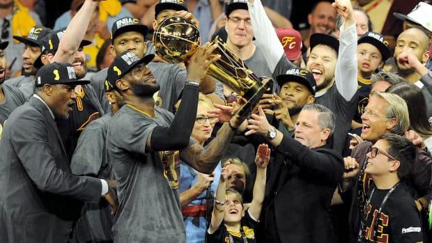 Cherish the 2016 Cavaliers-Warriors Finals