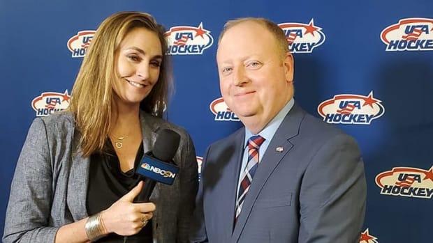 USA Hockey Executive Director Pat Kelleher