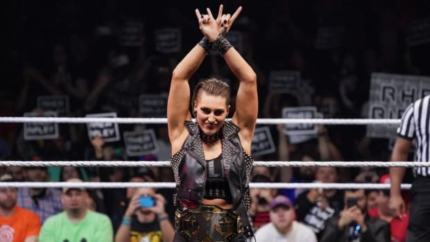 WWE's Rhea Ripley at NXT TakeOver