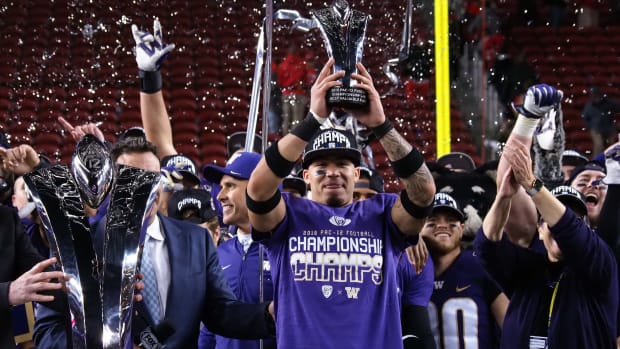 Byron Murphy, the 2018 Pac-12 title game MVP, has been part of Washington's cornerback excellence over the past decade.
