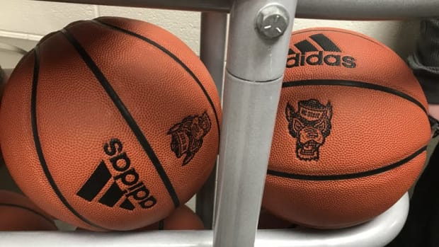wolfpack basketballs