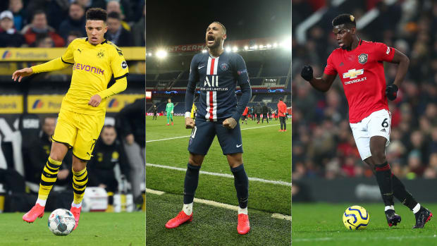 Jadon Sancho, Neymar and Paul Pogba were all tipped to be on the move this summer
