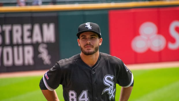 Dylan Cease ponders the next step in his development. (Clinton Cole/South Side Hit Pen)