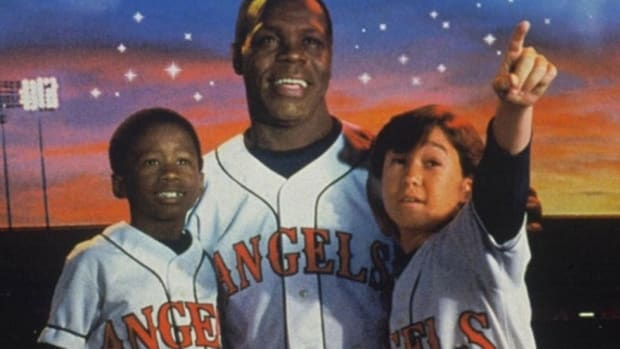 Danny Glover sees Angels ... on the day before he was due to retire.