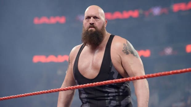 "WWE's Paul ""Big Show"" Wight in the ring on Raw"