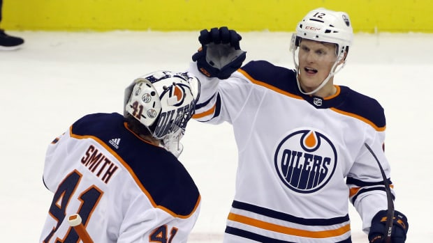 Oilers forward Colby Cave died at the age of 25 after suffering a brain bleed.