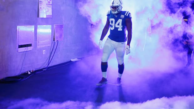 Indianapolis Colts defensive tackle Tyquan Lewis, a 2018 second-round pick out of Ohio State, has missed 15 games due to injuries in two NFL seasons.