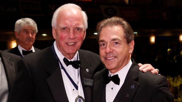 Mal Moore and Nick Saban
