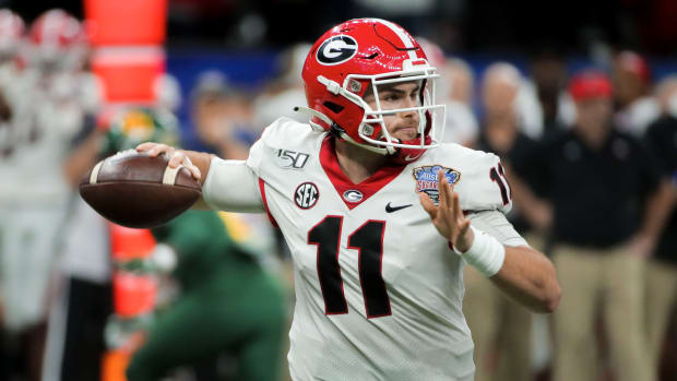 Former Georgia quarterback Jake Fromm was drafted by the Buffalo Bills.