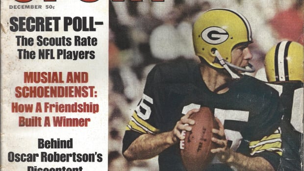 Bart Starr on cover of Sport