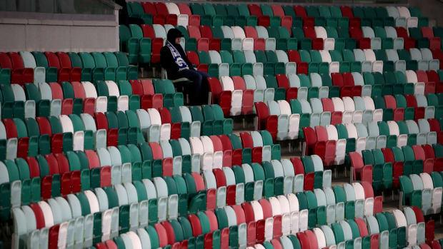 Belarus-Soccer-Fan-Empty-Stadium