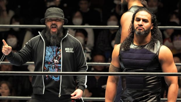 New Japan Pro Wrestlng's Tama Tonga in the ring