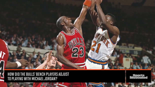 Bench Players Detail Life as Members of the Bulls Dynasty