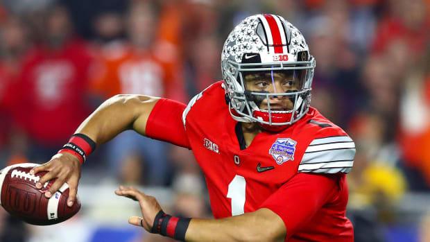 Ohio State Justin Fields quarterback coach