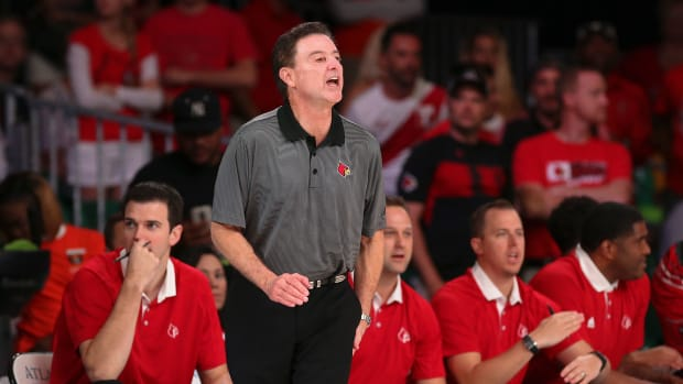 Louisville Rick Pitino NCAA basketball