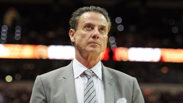 Rick Pitino Louisville Iona college basketball FBI scandal