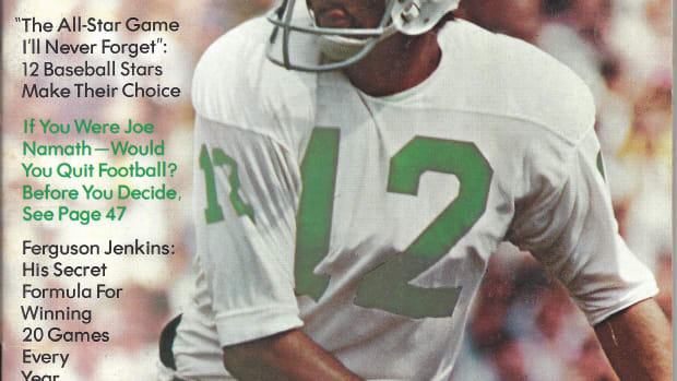 Joe Namath, Sport Magazine