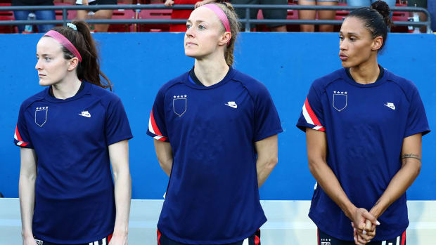 The USWNT is fighting U.S. Soccer for greater pay