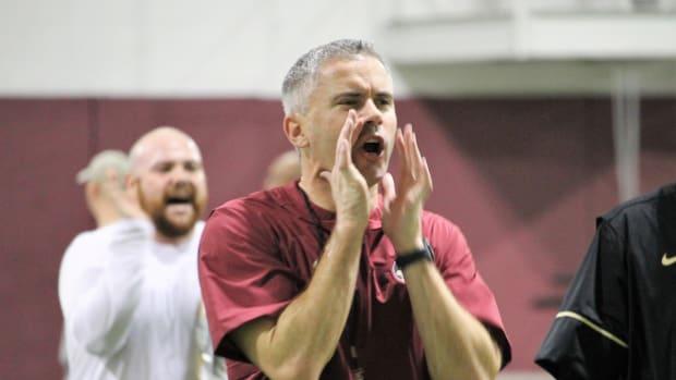 FSU head coach Mike Norvell