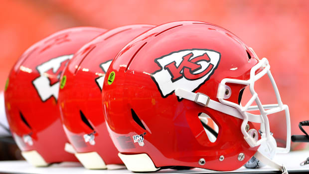 Chiefs Helmet