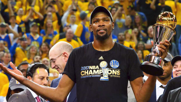 KEVIN DURANT WARRIORS FINALS MVP