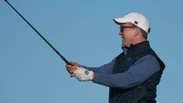 peyton manning golf