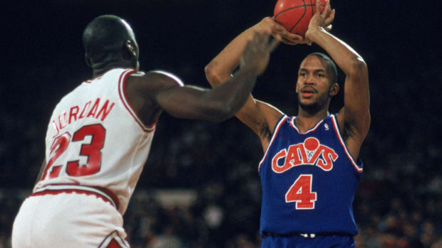 Ron Harper was often viewed as the Cleveland Cavaliers' answer to Chicago Bulls legend Michael Jordan.