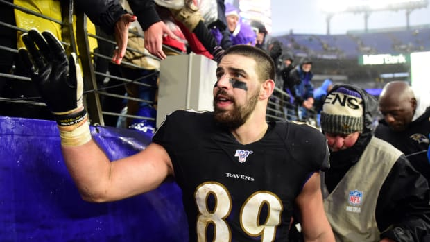 Mark Andrews, Baltimore Ravens