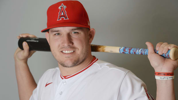 mike trout max scherzer mlb baseball wade miley