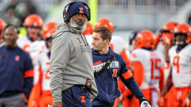 Lovie Smith has turned Illinois football into a destination point for players entering the college football transfer portal.