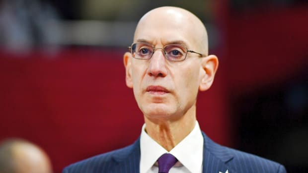 adam silver nba season resumed coronavirus