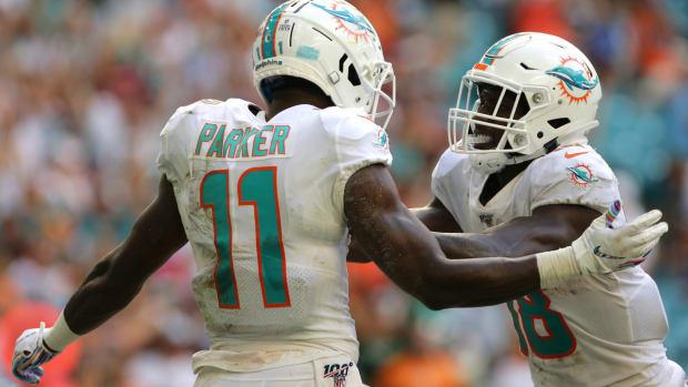 DeVante Parker, Preston Williams, Miami Dolphins