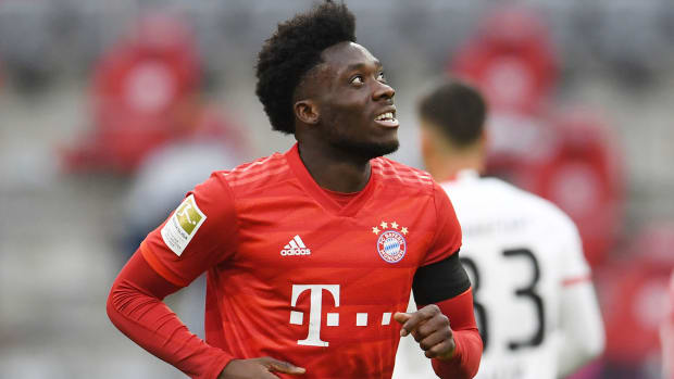 Alphonso Davies is a rising star at Bayern Munich
