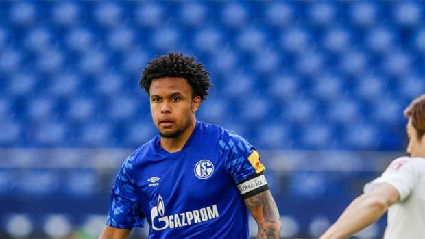 weston-mckennie-george-floyd