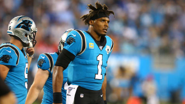 Free agent quarterback Cam Newton is expected to take his time in signing with a new team.