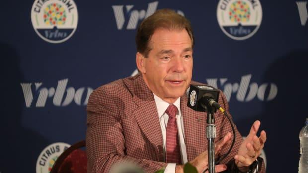 Alabama coach Nick Saban released a statement on the tragic death of George Floyd.