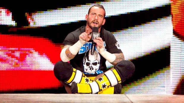 "CM Punk delivers his classic ""Pipebomb"" promo on WWE Raw in 2011"