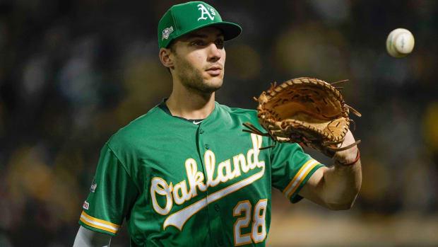 Matt Olson, Oakland Athletics