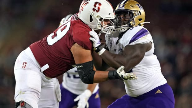Foster Sarell went from Washington state to Stanford.