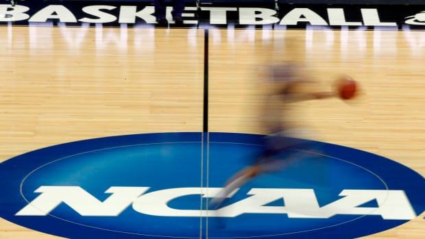 NCAA logo basketball ap