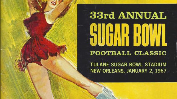 1967 Sugar Bowl program cover