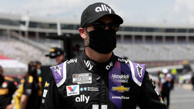 Jimmie Johnson has been cleared to race by NASCAR after receiving two negative COVID-19 tests.