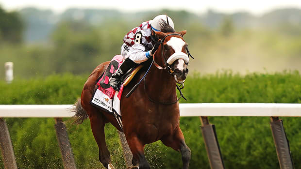 Tiz The Law Belmont Stakes