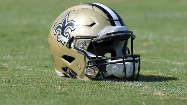 New Orleans Saints Helmets (2)