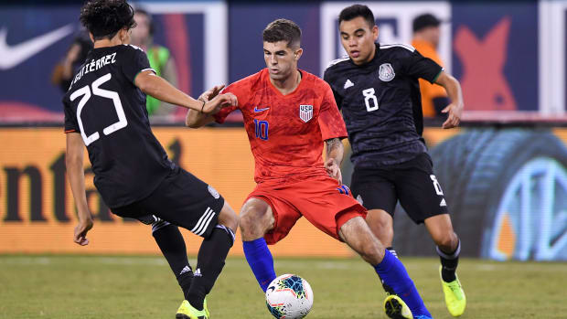 Christian Pulisic and USA face Mexico in a friendly
