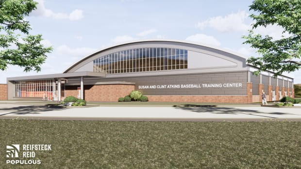 The Susan and Clint Atkins Baseball Training Center at Illinois is scheduled for completion by January 2022.