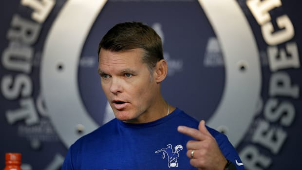 Indianapolis Colts general manager Chris Ballard received the Pro Football Writers Association's Jack Horrigan Award on Thursday. The annual honor is bestowed upon the league or team official who best assists writers with doing their jobs.