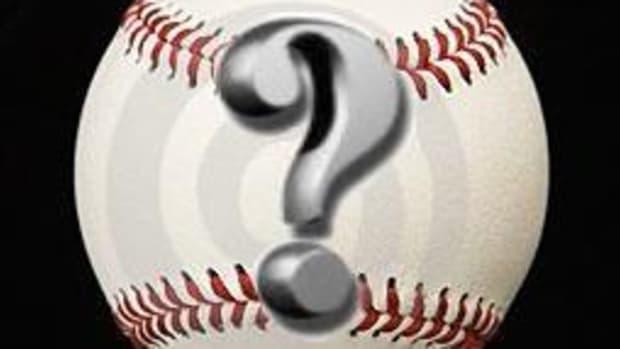 baseball question mark