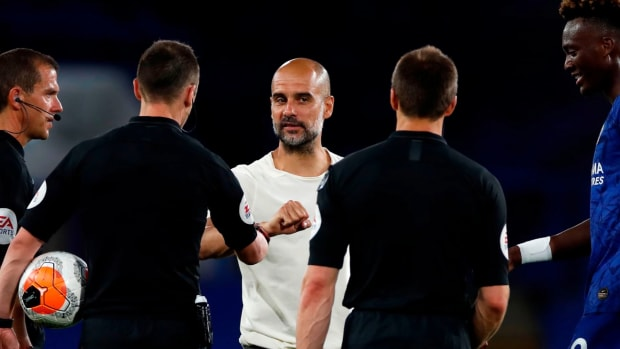 Pep Guardiola Thumb