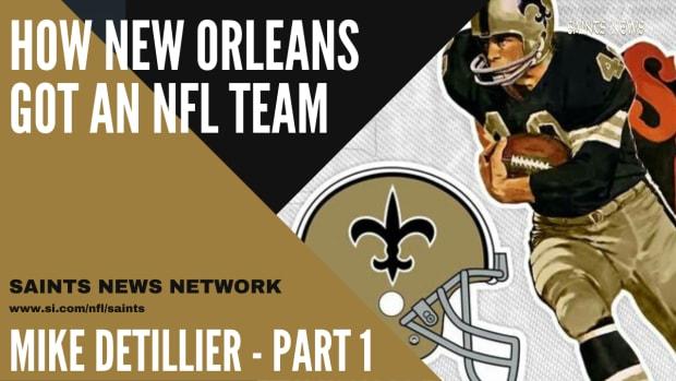 Saints NFL - Mike Detillier Part 1
